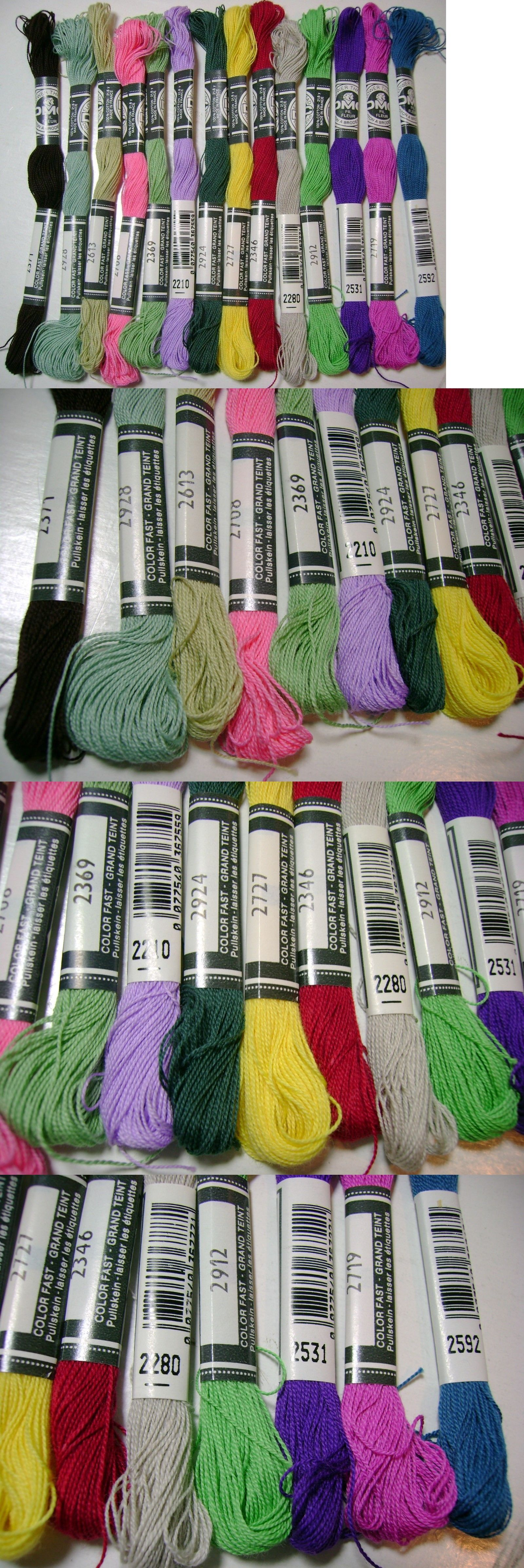 Hand Embroidery Floss And Thread 28144 14 Dmc Flower Thread Embroidery Floss 14 Colors Nos B Buy It Now Only 12 86 Embroidery Floss Floss Hand Embroidery