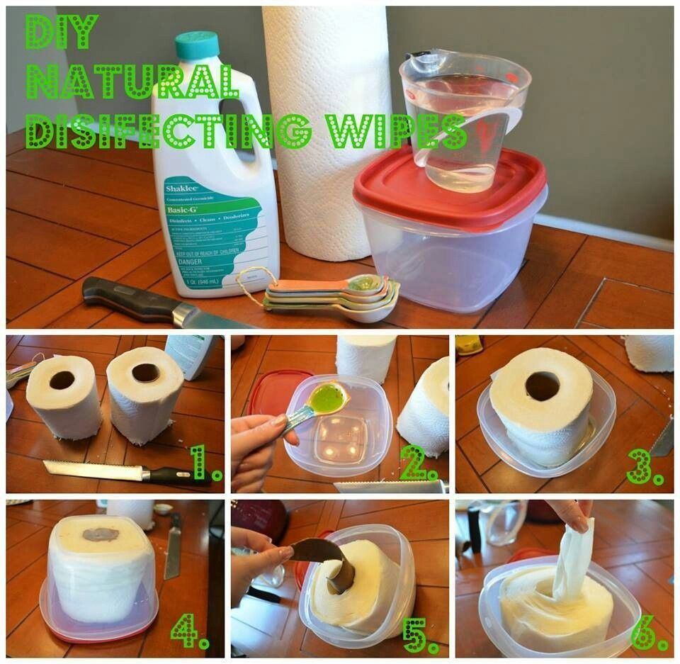 Use Bounty Paper Towels Shaklee Basic G Wipes Diy