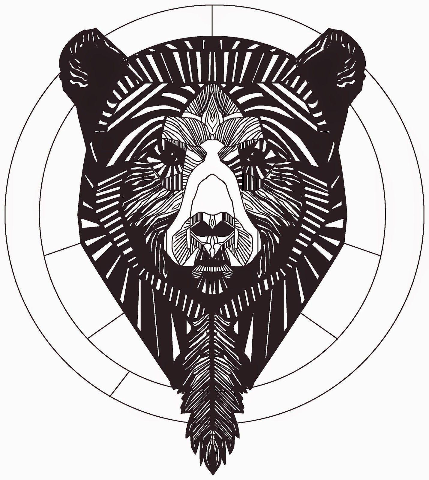 Картинки медведя графика