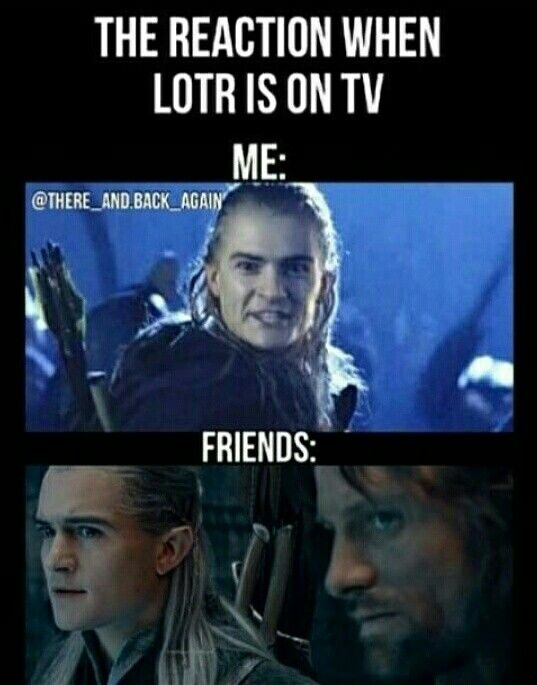 Funny Lord Of The Rings Memes We Get Excited When Lotr Is On