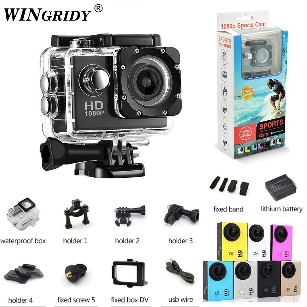 Waterproof 30m Mini Camera Full HD 1080P Action Sport