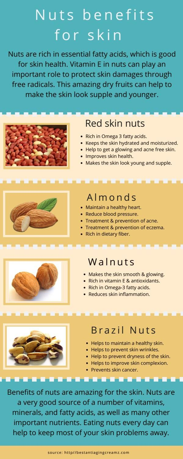 Nuts Benefits For Skin L Red Skin Nuts Benefits Nut Benefits Red Skin Benefit