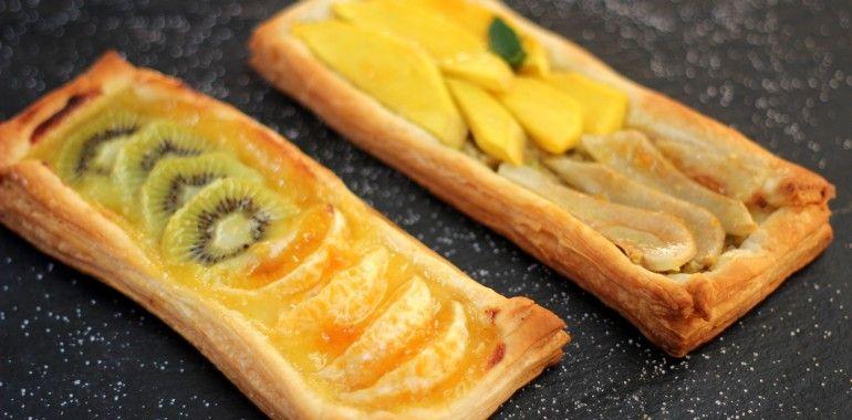 Receta de aprovechamiento | Hojaldre de frutas