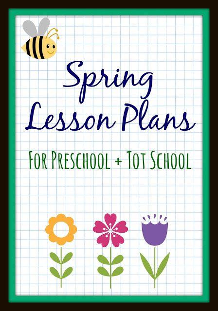 Spring Preschool Lesson Plans Toddler Preschooler Ideas