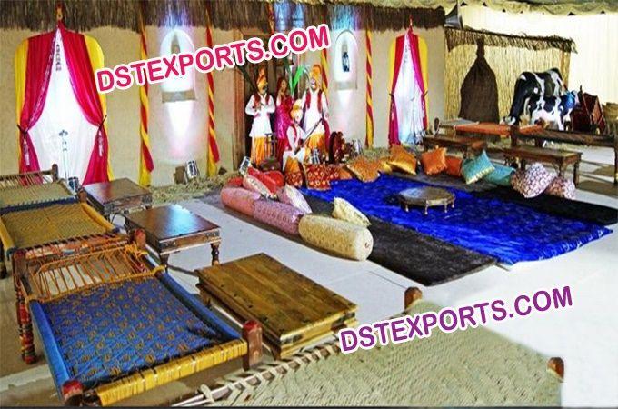 Punjabi village theme wedding stage decoration dstexports punjabi village theme wedding stage decoration dstexports junglespirit Choice Image