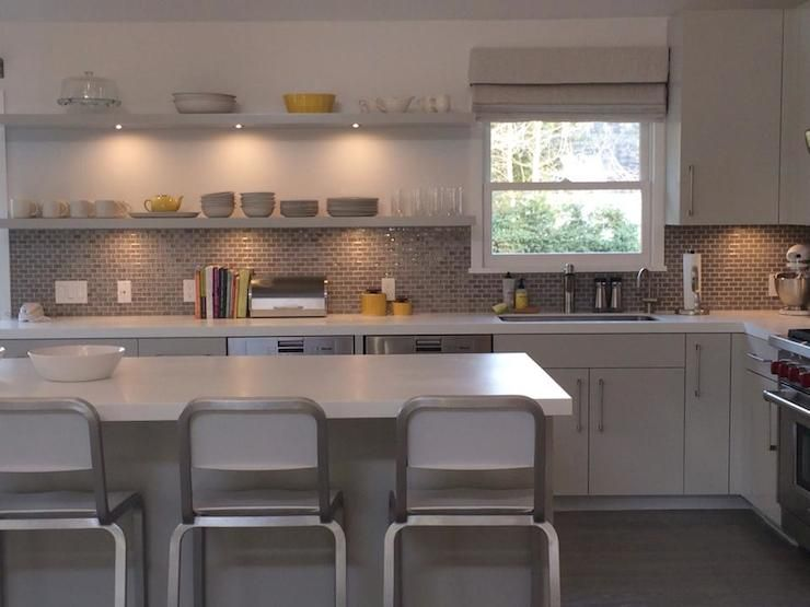 Bella Mancini Diseño - cocinas - amarillo y gris de cocina ...