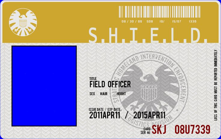 Agent Of Shield Id Card Template Toyola Pertaining To Shield Id Card Template Marvel Shield Business Card Template Word Id Card Template
