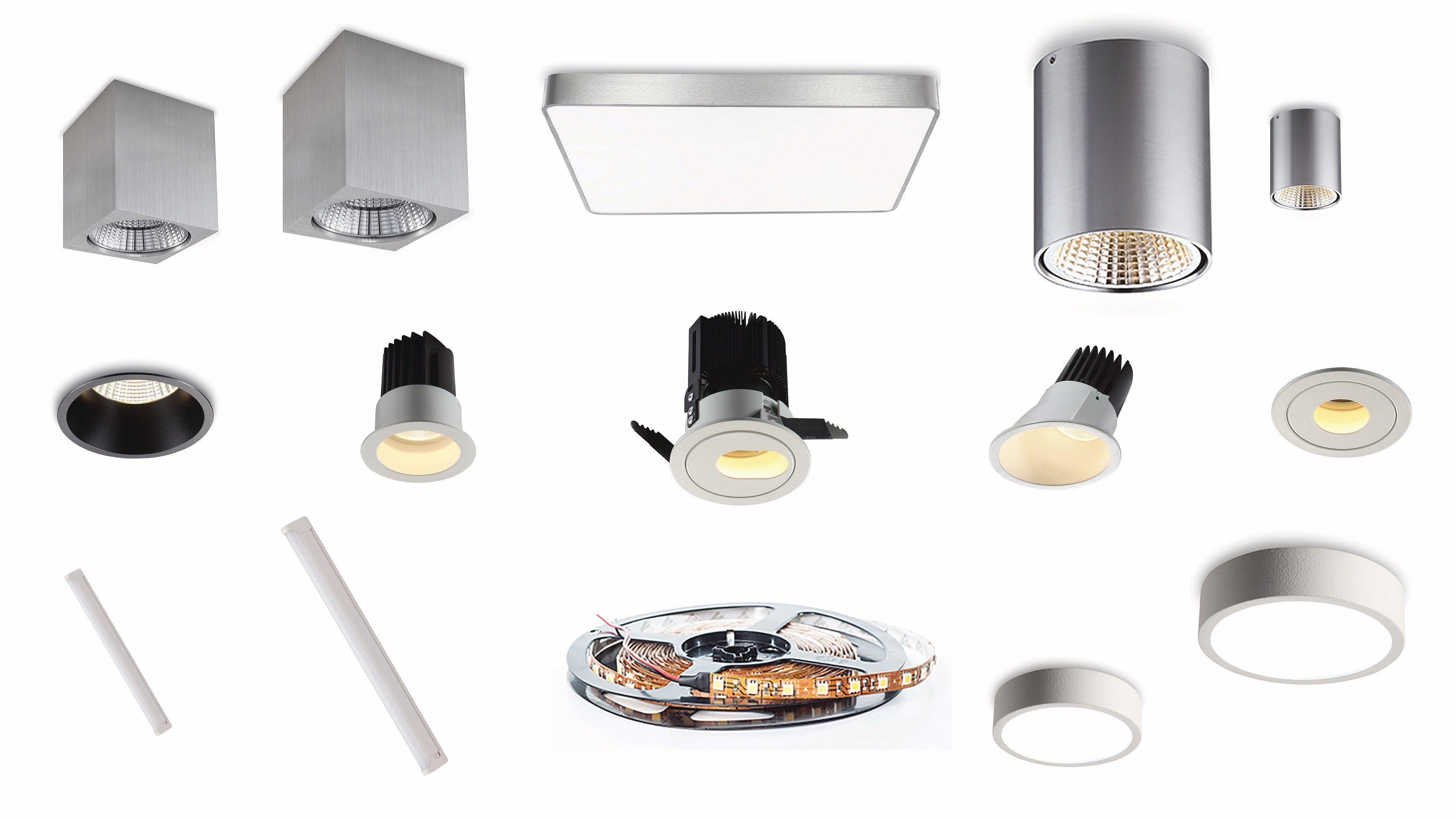 0797016fd07 LED lamper køkken og LED #køkkenspot tilbyder en lang række #LED armaturer  og løsninger