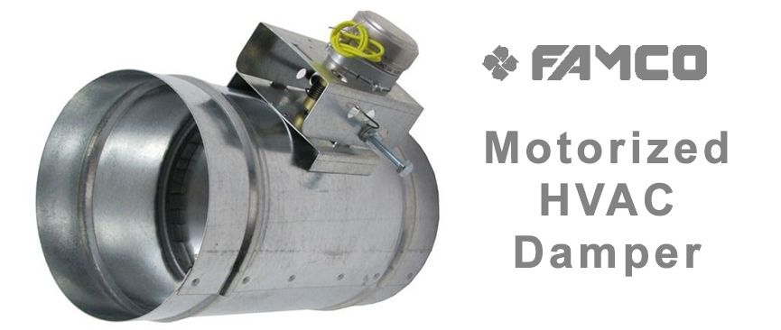 Motorized Dampers Regulating The Quality Of Air Hvac Wall Vents Chimney Cap