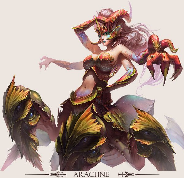 Stunning Game Characters by Hong Yu-Cheng | Game character design ...