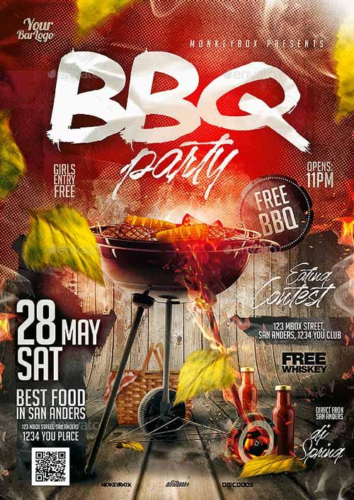Bbq Bash Flyer Template  HttpFfflyerComBbqBashFlyer