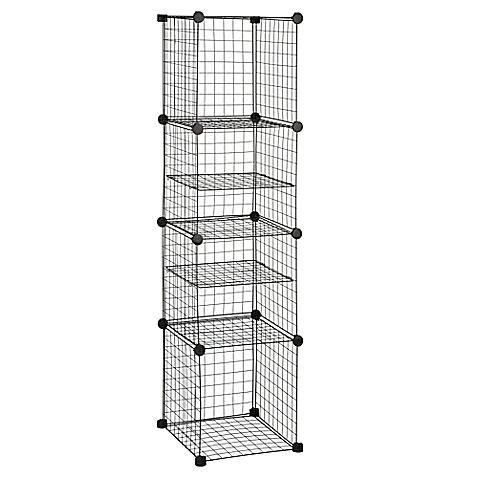 Grid Wire Modular Shelving And Storage Cubes Modular Shelving Cube Storage Adjustable Shelving
