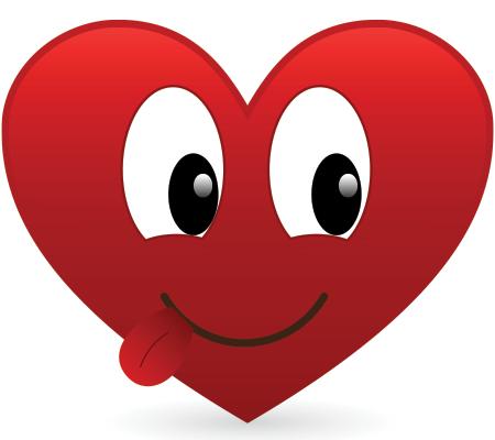 Cute Tongue Heart Smiley Emoji Smiley Emoji Faces