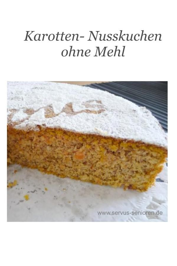 Photo of Karotten-Nusskuchen ohne Mehl