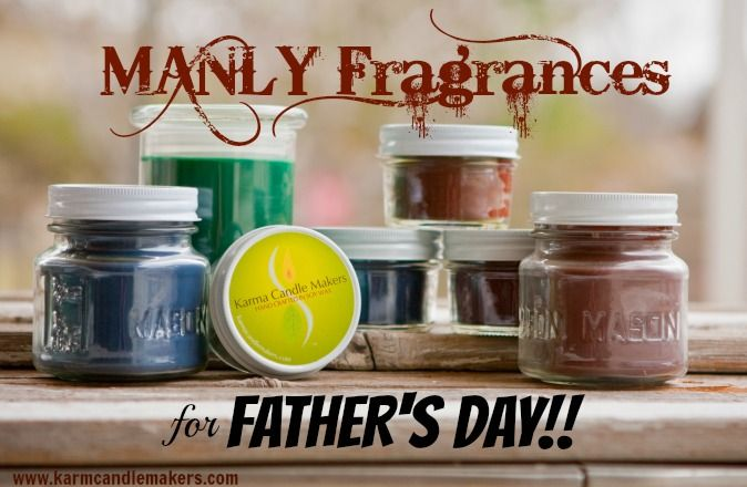 Father's Day is June 15th and we have  fragrances he'll love! Saddle Up, Mountain Spring, Disc Golf and Ocean just to name a few! Get his now at www.karmacandlemakers.com