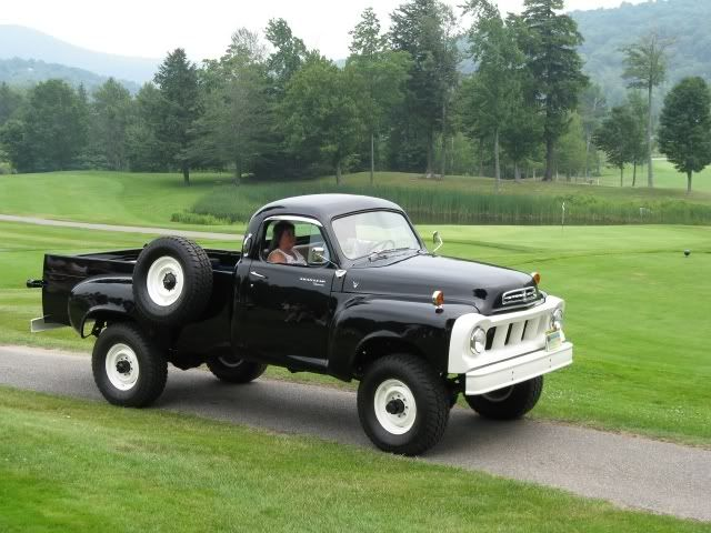 4 Wheel Drive 58 Studebaker Pickup Truck With Images Trucks