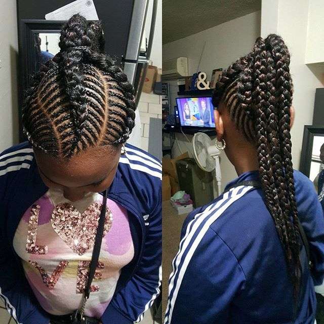 latest ghana weaving hairstyles (4)  http://maboplus.com/ladies-have-you-tried-these-latest-ghana-weaving-hairstyles/