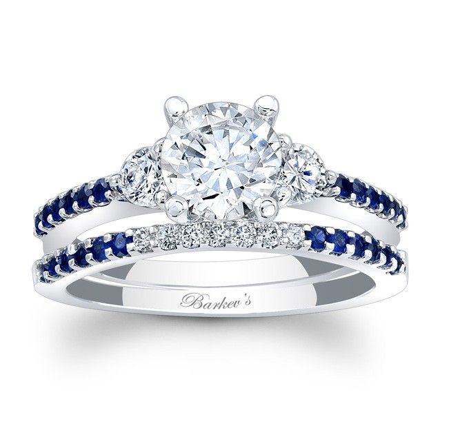Blue+Sapphire+Engagement+Ring+ +Blue+Sapphire+Engagement+Ring