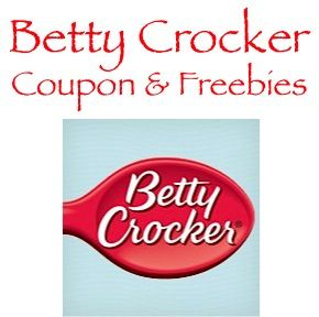 Betty Crocker Recipes, Coupons and FREE Sample Offers!