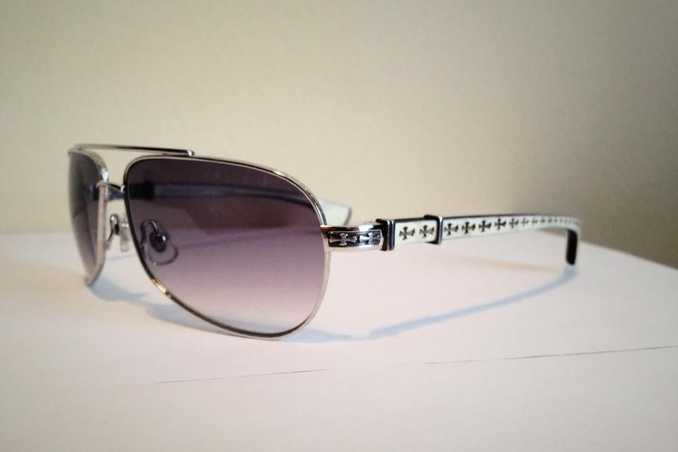 734a25e47c65 Authentic CHROME HEARTS Sunglasses - Baby Beast Large Photo