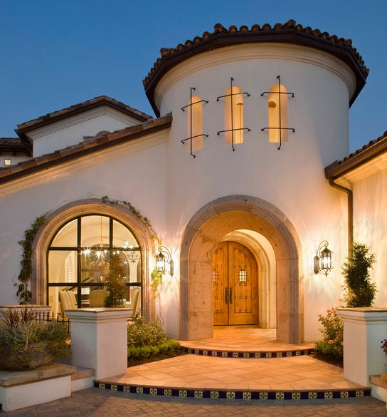 Mission Style Home Plans At Dream Source Spanish Hacienda