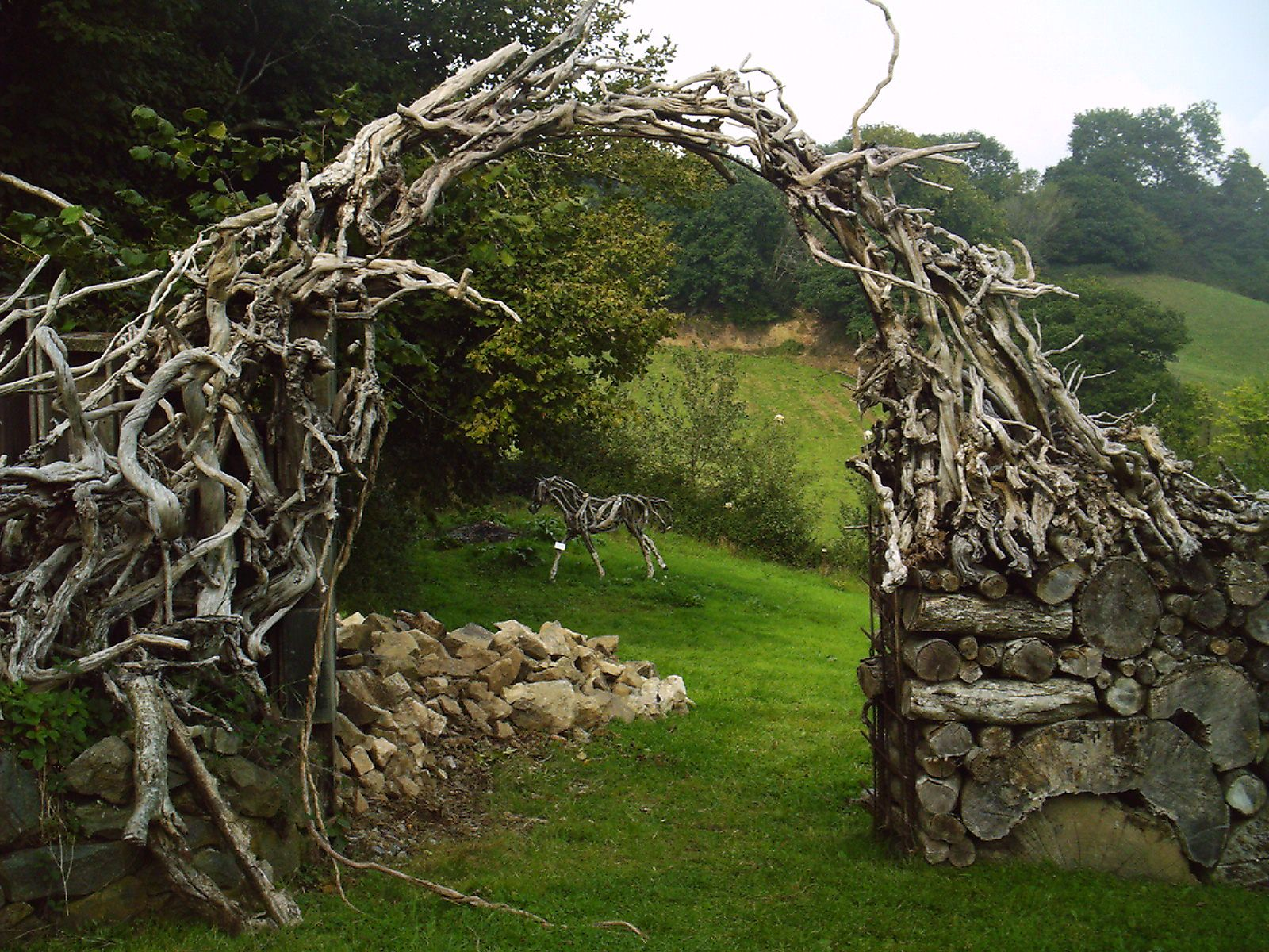 awesome Fence and Rose Arch