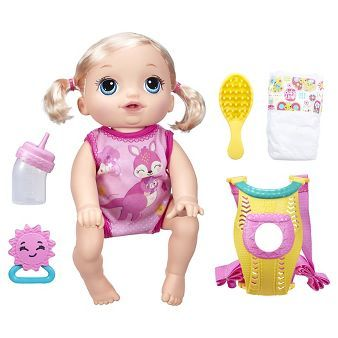Baby Alive Baby Go Bye Bye Blonde With Images Baby Alive