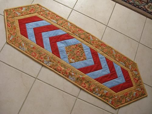 Braid Quilt Pattern Table Runner : french bread quilt runner pattern Braid Runner Table Runner Quilting Projects Pinterest ...