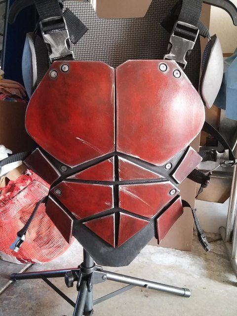 Arkham-ish armored Robin WIP   Foam Armor   Pinterest ...