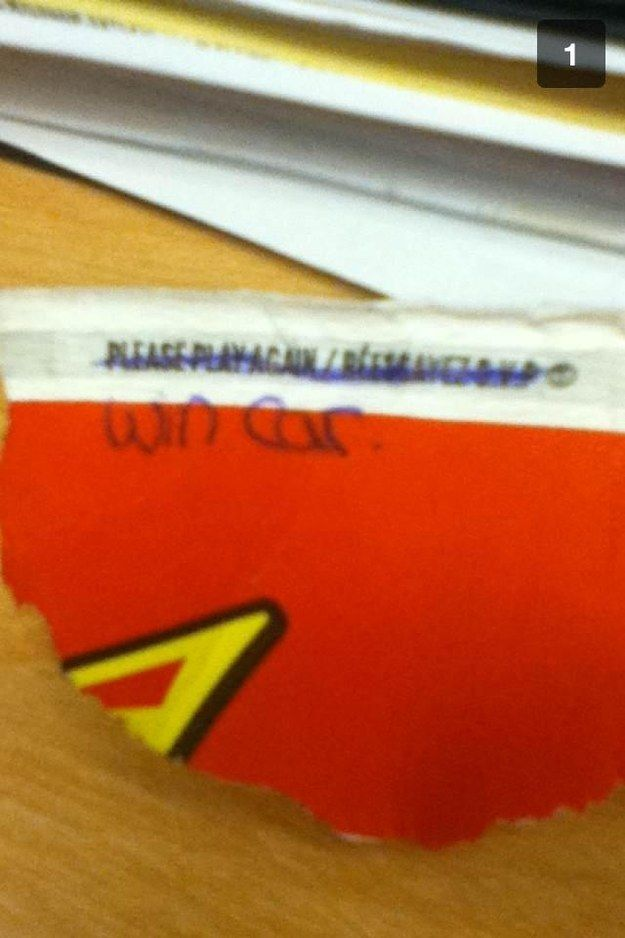 """This friend, who attempted to con the system. 