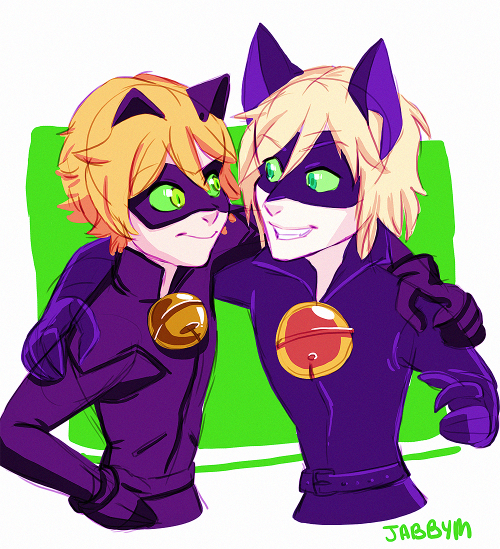 Miraculous Tales Of Ladybug And Cat Noir - Adrien and Felix