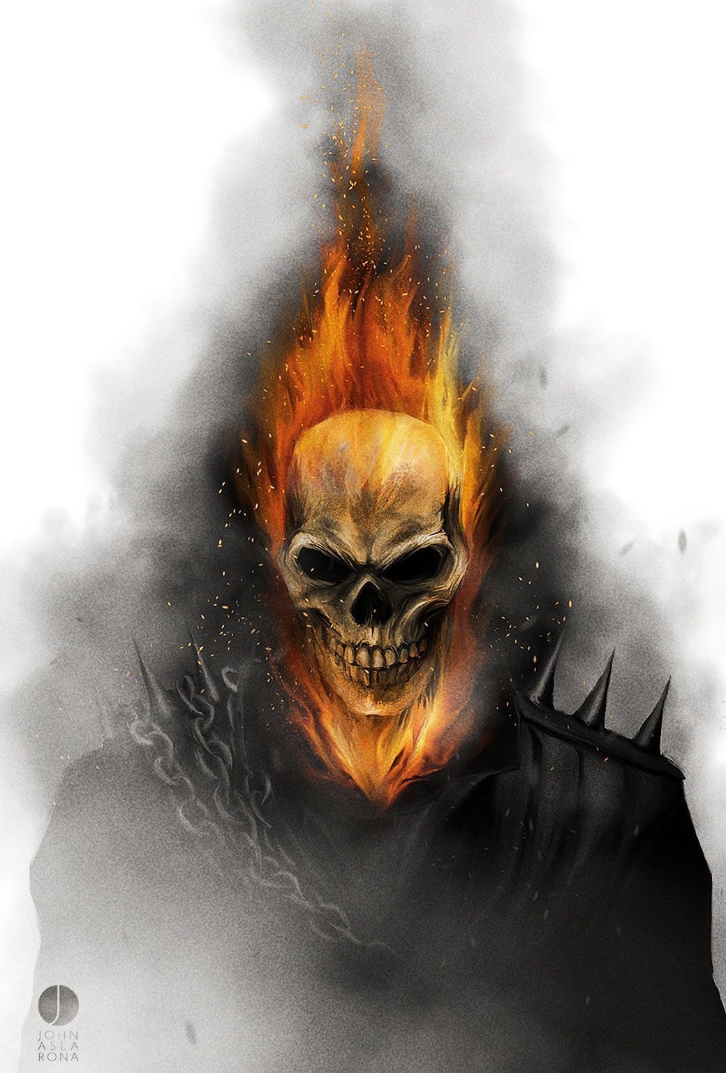 Ghost Rider Wallpapers Top Free Ghost Rider Backgrounds Wallpaperaccess Ghost Rider Wallpaper Ghost Rider Marvel Ghost Rider Tattoo