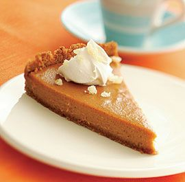 Ginger Pumpkin Tart: subbed fresh ginger for powdered/candied and used 1/2 gingersnaps in crust. AWESOME!
