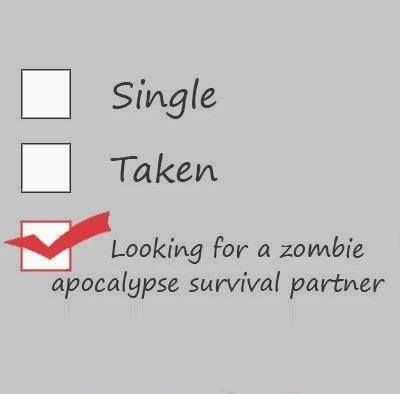 Looking For A Zombie Apocalypse Survival Partner