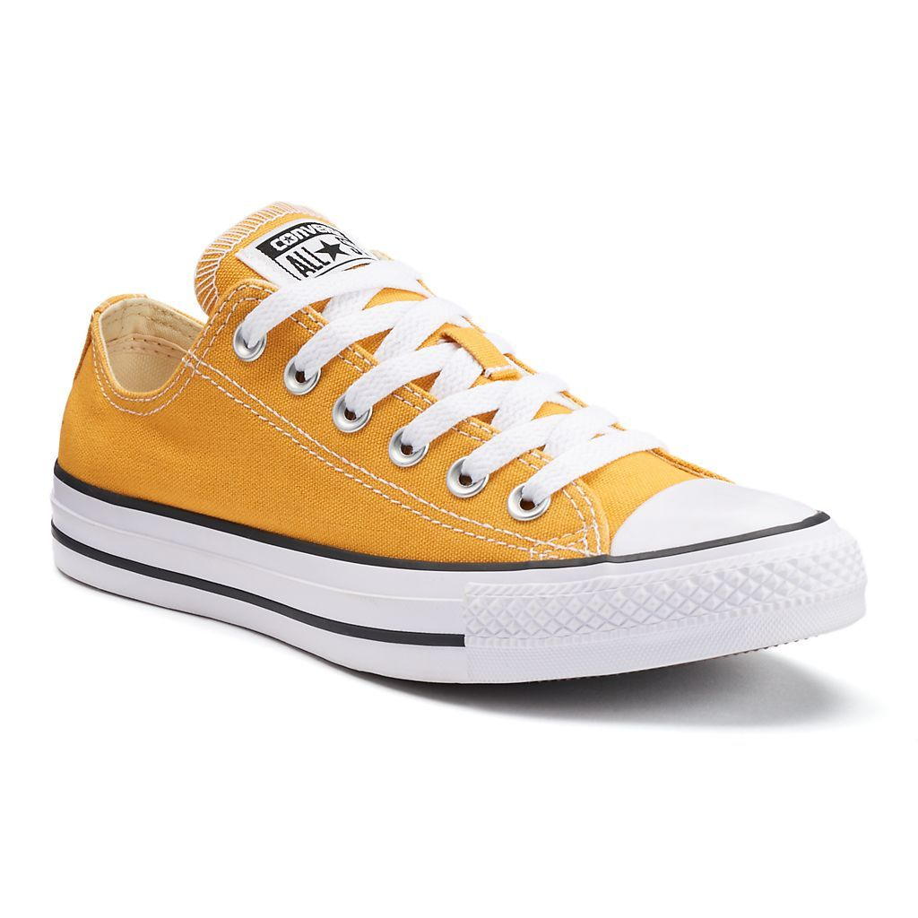 Adult Converse All Star Chuck Taylor Sneakers, Solar Orange $55…
