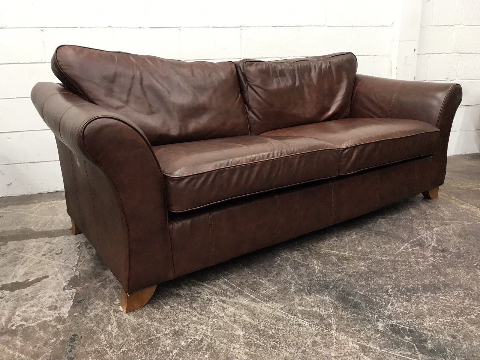 Brown Leather Sofa Marks And Spencer Livingroomideas Brown