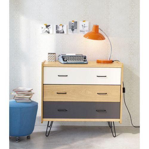 vintage kommode 3 schubladen moodboard wohnzimmer. Black Bedroom Furniture Sets. Home Design Ideas