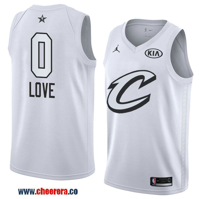 ... lebron james signed memorabilia 59d28 77ded  get mens western  conference cleveland cavaliers 0 kevin love white 2018 nba all star jersey  639da 70f053de4