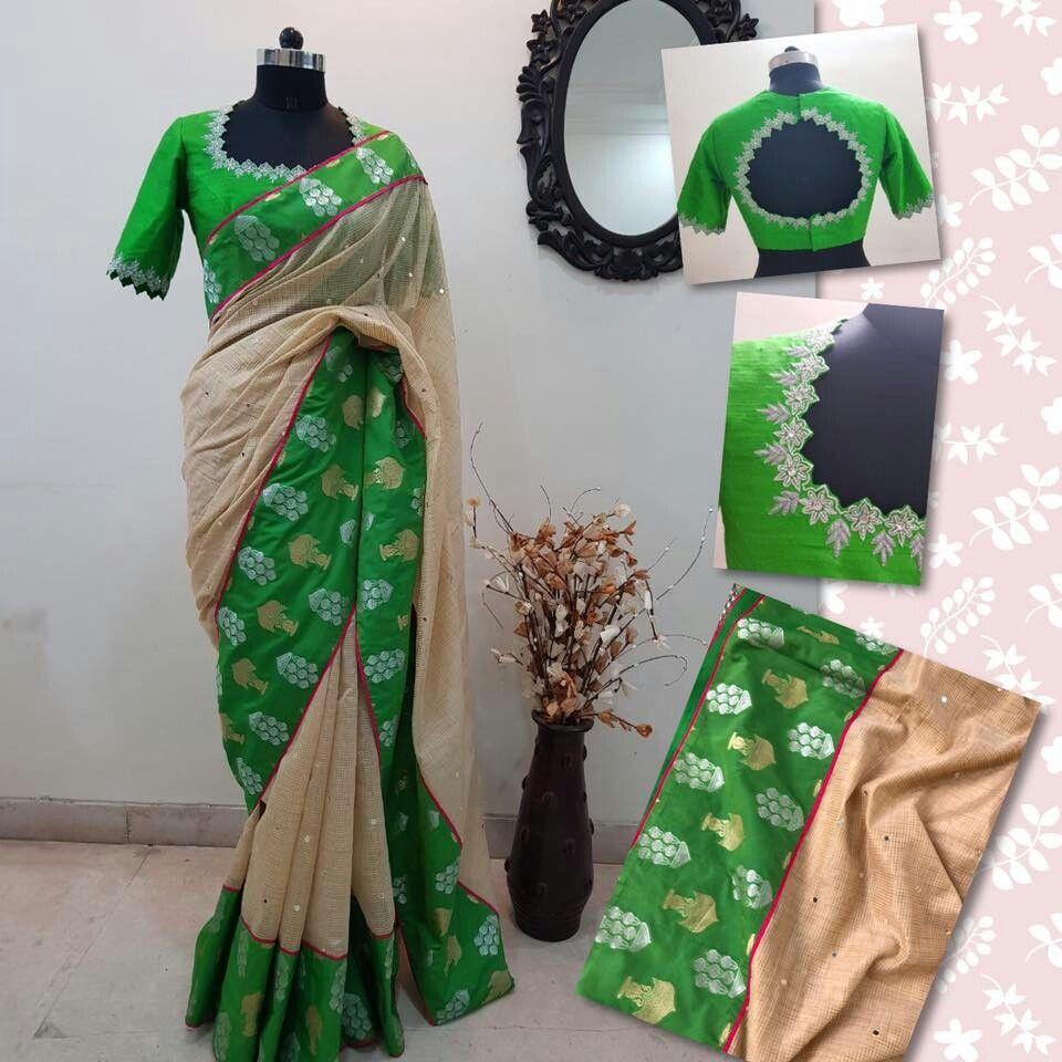 Silk saree below 2000 pin by shanthala kotian on blouse  pinterest  blouse designs