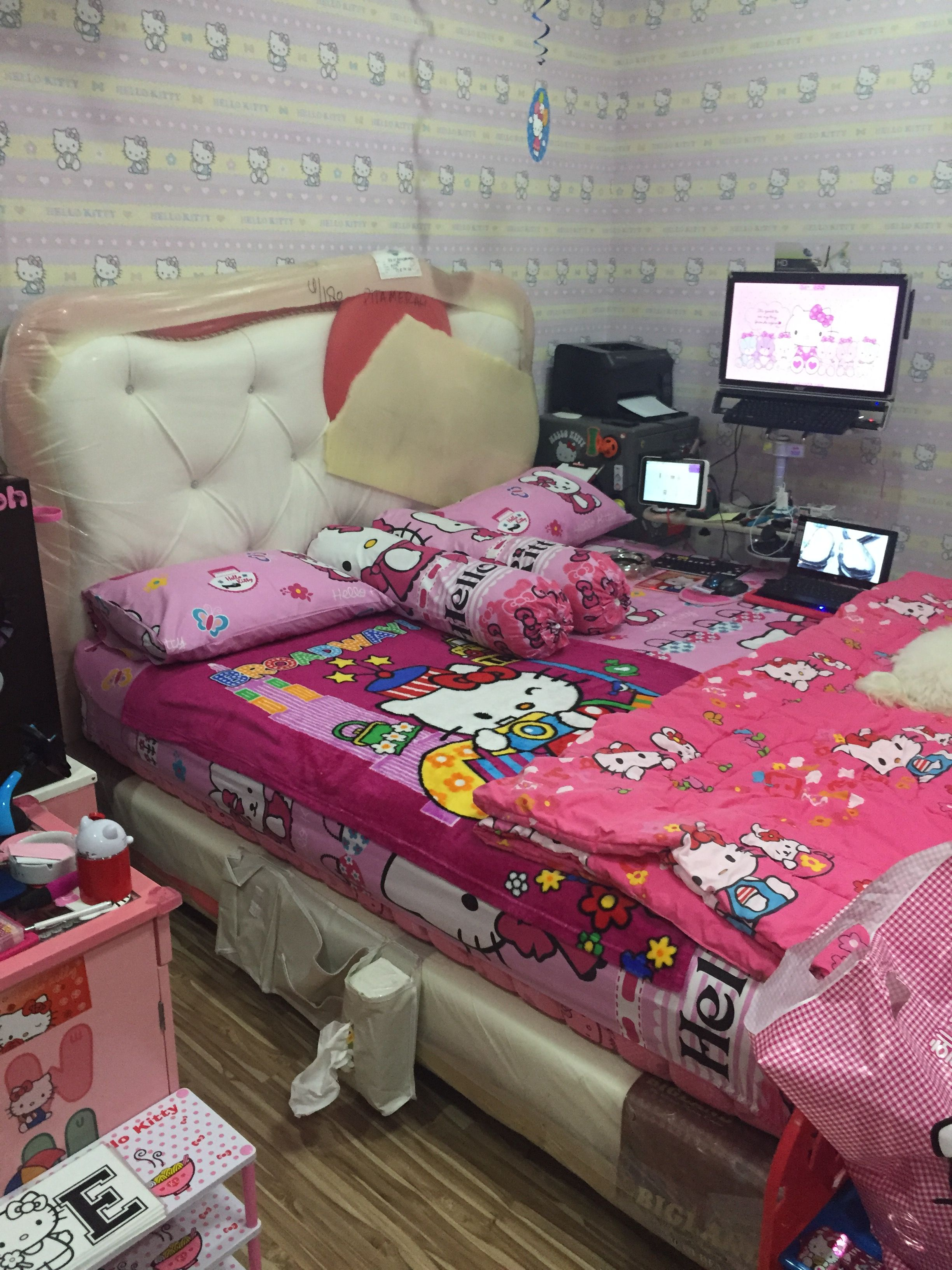 Pin by Elsie Lontoh on Hello Kitty House Kid room decor