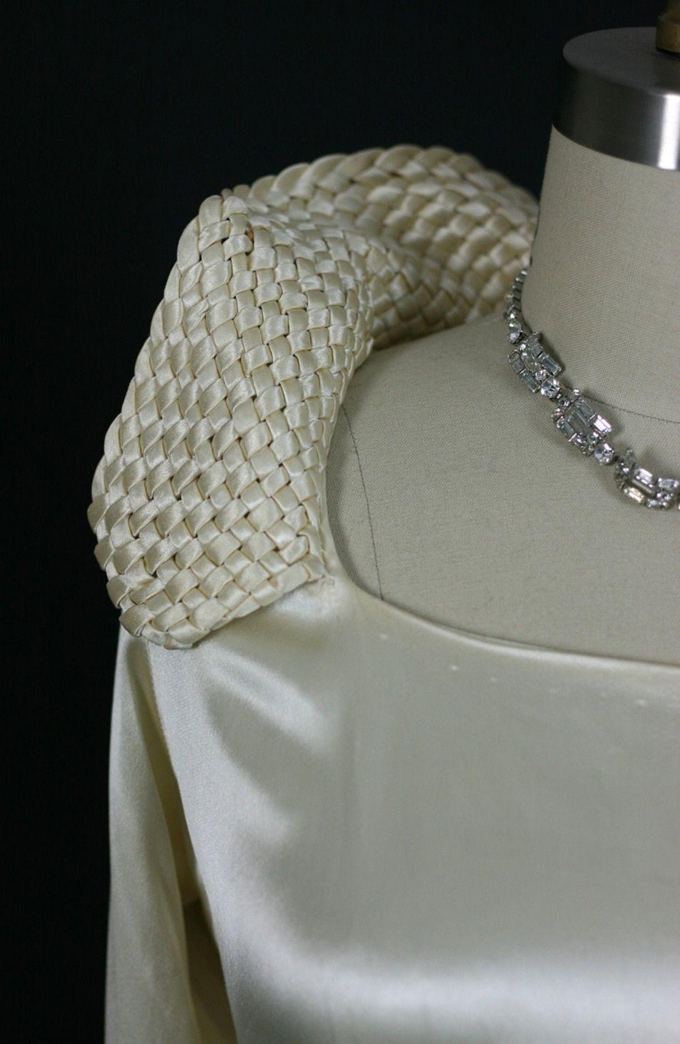 1930s wedding dress  Early s Wedding Gown  s  Pinterest  s wedding s