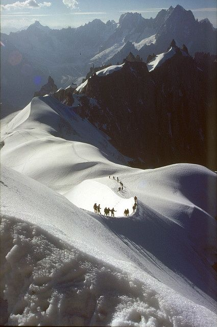 Beautiful Mountains: Aiguille du Midi France