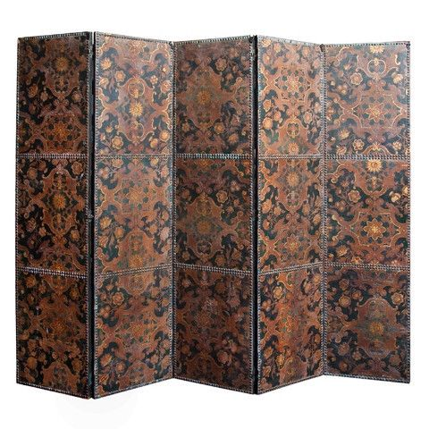 Accessories - Spanish-5-panel-screen - Grant Antiques ...