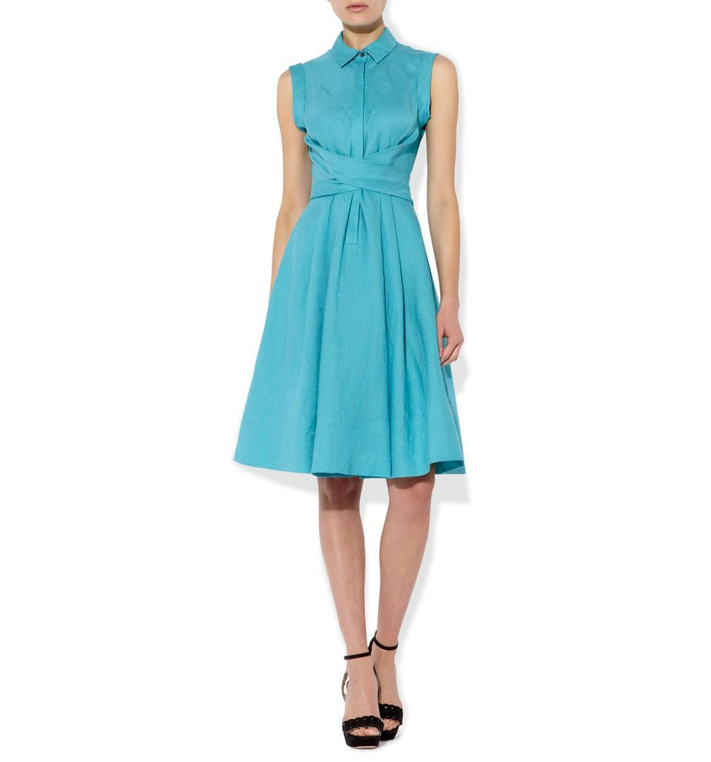 Blue Gables Dress | Casual Dresses | Dresses | Hobbs | My style ...