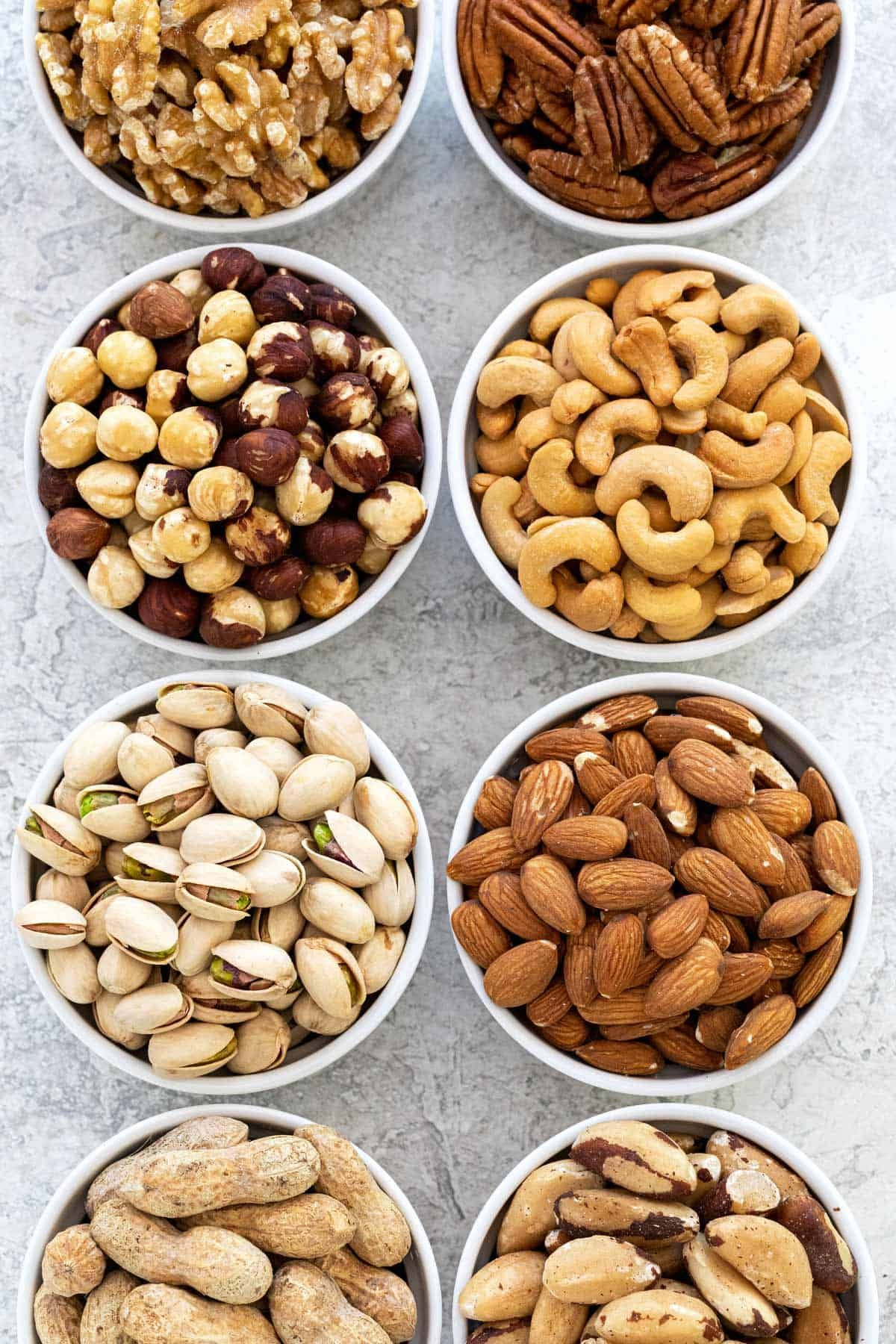 15 Common Types Of Nuts Jessica Gavin Food Nut Recipes Healty Food