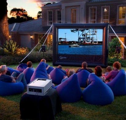 open air kino im eigenen garten 20 ideen f r eine gute unterhaltung pinterest kino sessel. Black Bedroom Furniture Sets. Home Design Ideas