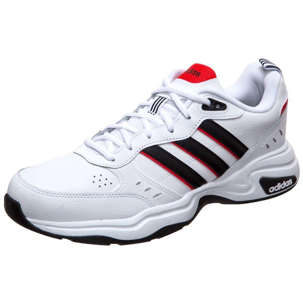 Adidas Performance Sneaker Strutter Herren Weiss Schwarz Rot Grosse 49 1 2 Turnschuhe Sneaker Herren Und Adidas