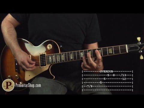 Led Zeppelin - Dancing Days Guitar Lesson - YouTube