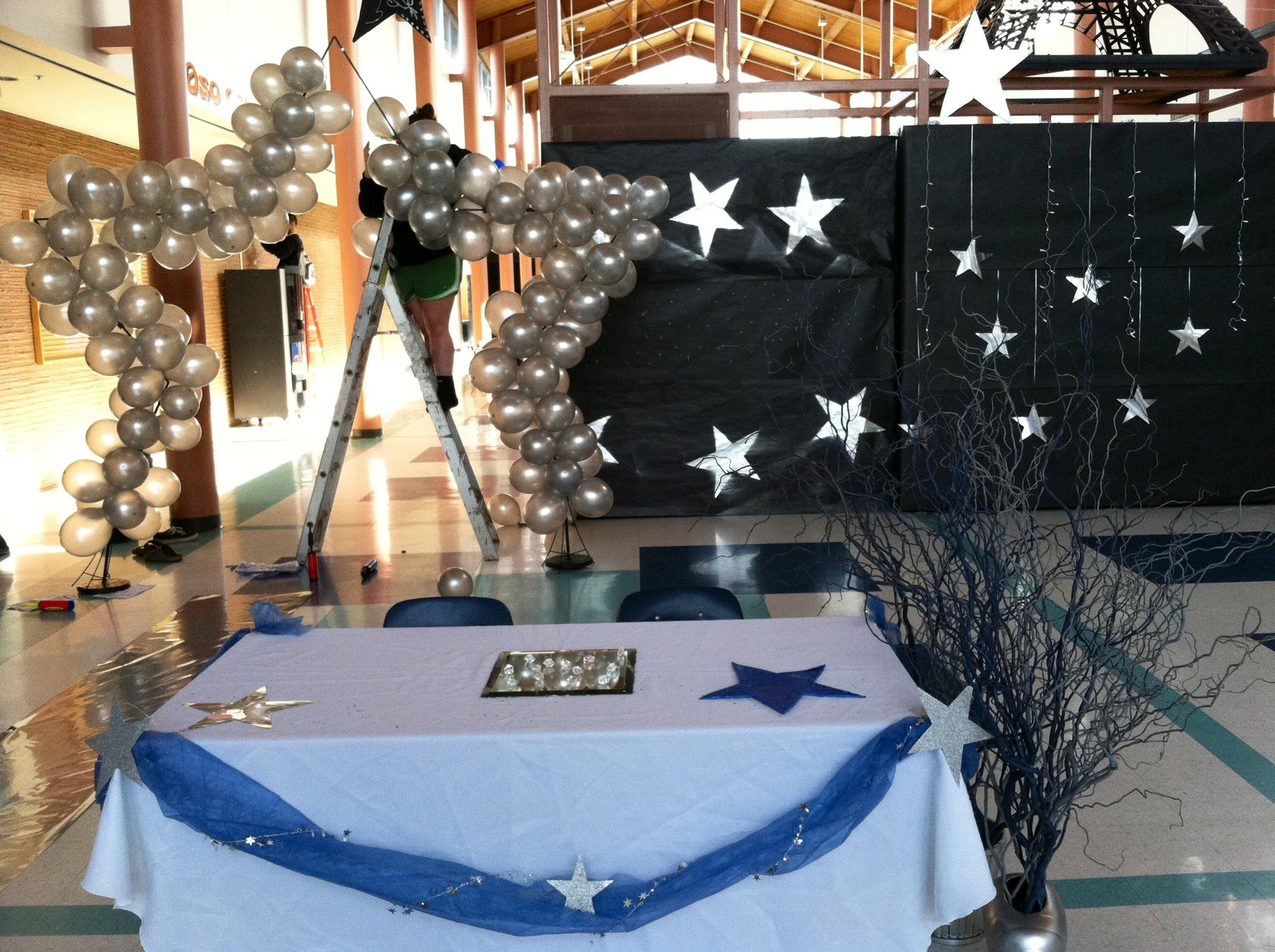 Under The Stars Dance Decorations Dance Decorations Homecoming