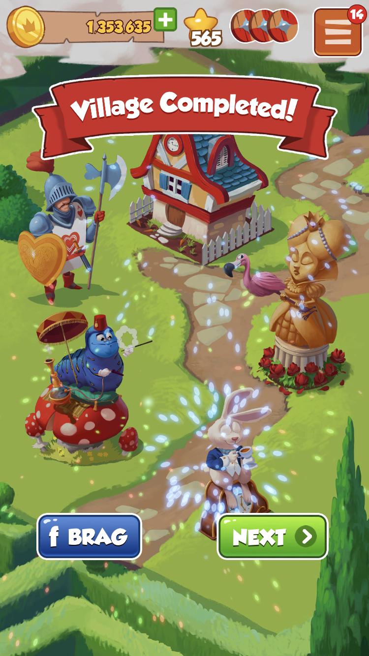 coinmaster mobilegame wonderland